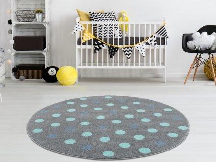 Moderní koberec do dětského pokoje pro kluky