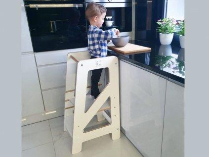 Montessori rostoucí učící věž  ELIS DESIGN