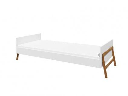 Kvalitní dětská postel sněhově bílá