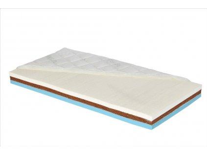 Latexová matrace s kokosovou deskou do dětské postýlky