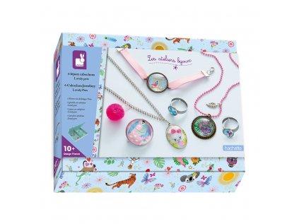 Šperky v šperkovničke Domácí mazlíčci 6 ks Atelier