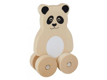 dřevěný medvídek panda