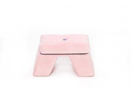 Dětská stolička Premium růžová