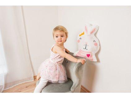 Flísový polštář pro holčičku