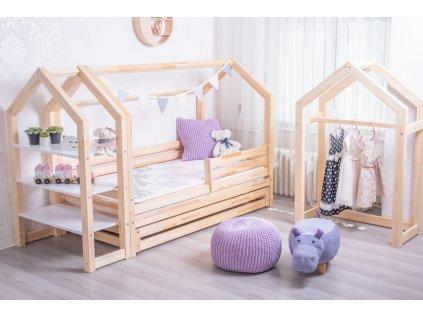 postel pro děti domeček