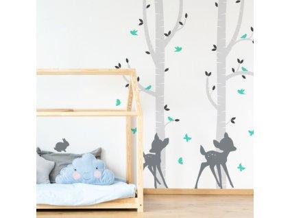 Velká samolepka na stěnu dětského pokoje