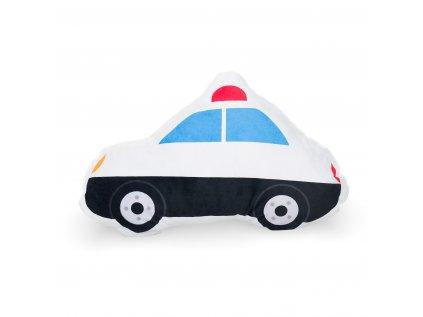 dětský tvarovaný polštářek policejní auto