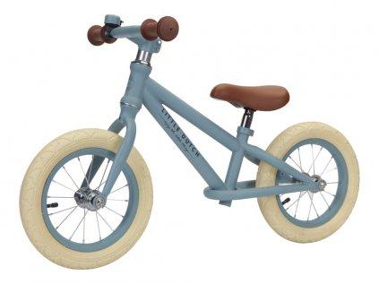 Kovové odrážedlo pro děti modré kolo