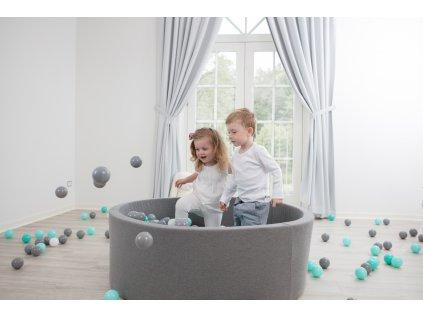 Vkusný suchý bazének do pokoje