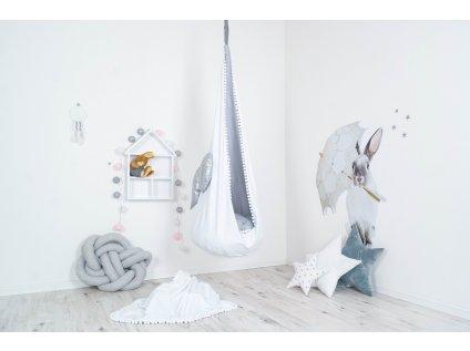 hpupací vak na zavěšení na strop