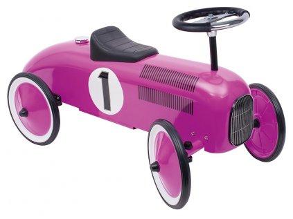 závodní speciál v růžové barvě