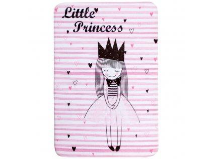 Krásný dětský koberec s malou princezničkou nejen pro malé princezny