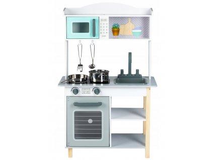 Dětská dřevěná kuchyňka v moderním designu