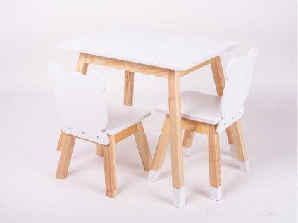 Rostoucí židličky a stoleček