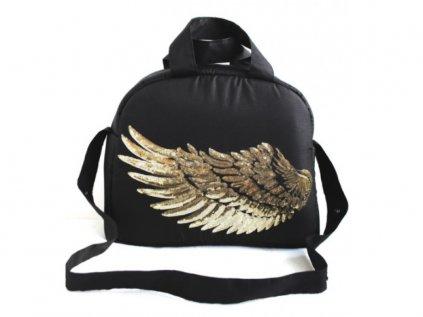 Kvalitní černá přebalovací taška křídla