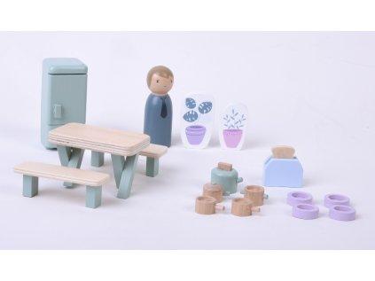 Hrací set kuchyň 19ks