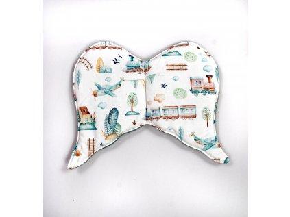 Plochý polštář pro miminko