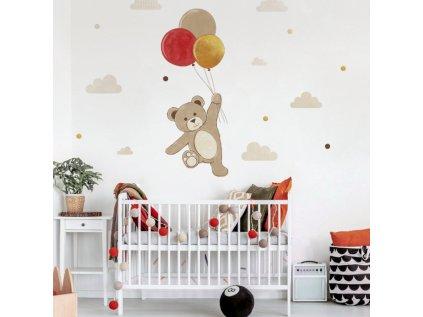 nálepka na zeď pro děti míša