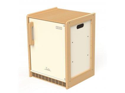 Dřevěná chladnička Education