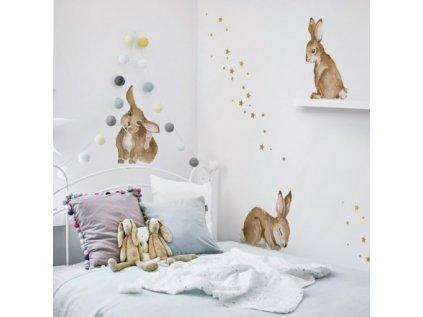 dekornik happy rabbits wonderland deko.n.nnm021 happy rabbts vis1 1 950x950
