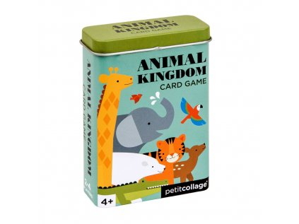 Karty v dóze království zvířat