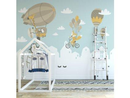 Tapeta na zeď do dětského pokoje