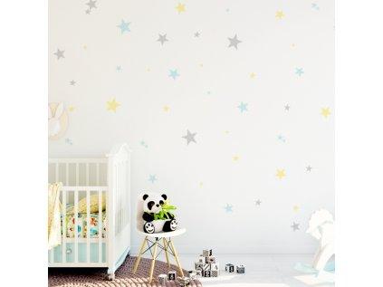 samolepky na zeď do dětského pokoje