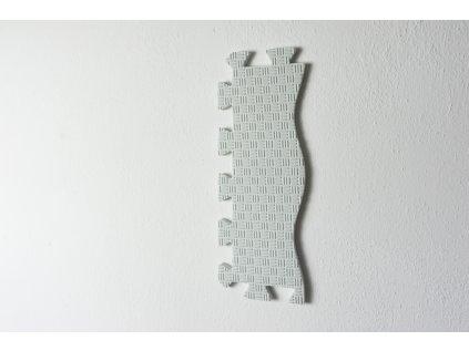 bílý okraj puzzle