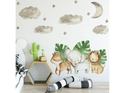 Nálepka na stěnu do dětského pokoje