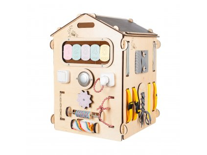 montessori domeček - zábavná interaktivní hračka pro děti od 1 do 6 let