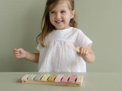růžový xylofon