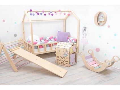 Vysoce kvalitní dětská rostoucí postel ve tvaru domečku do každého dětského pokoje
