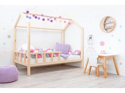 Eco rostoucí postel do dětského pokoje