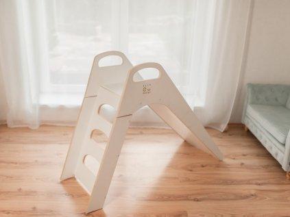 Dřevěná dětská skluzavka od ELIS DESIGN