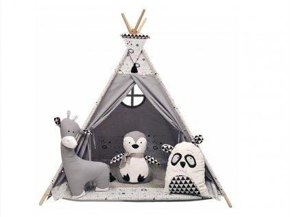 Originální teepee stan nejen do dětského pokoje