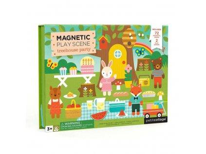 Magnetické divadlo zvířátkový dům