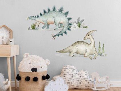 Dětské samolepky na zeď dinosauři