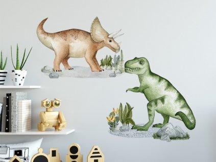 samolepky na stěnu dinosauři