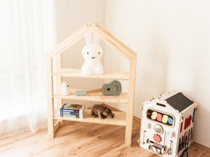 Kvalitní a stylová domečková knihovna nejen do dětského pokoje