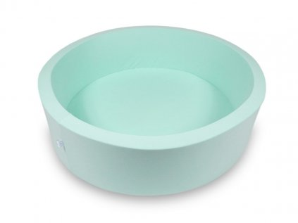 Moderní mátový dětský suchý bazének na míčky 115x30 cm