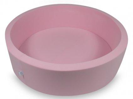 Dětský kulatý suchý bazének pro holčičky 110x30 cm bez míčků