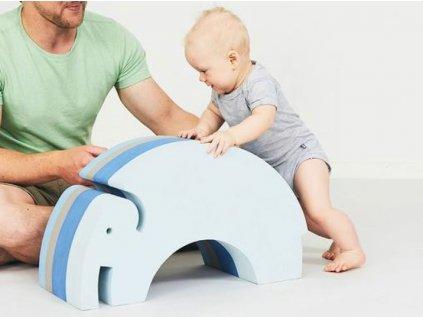 Montessori multifunkční slon pro celou rodinu velký