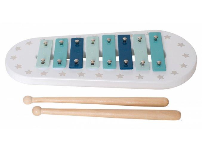detky xylofon modry