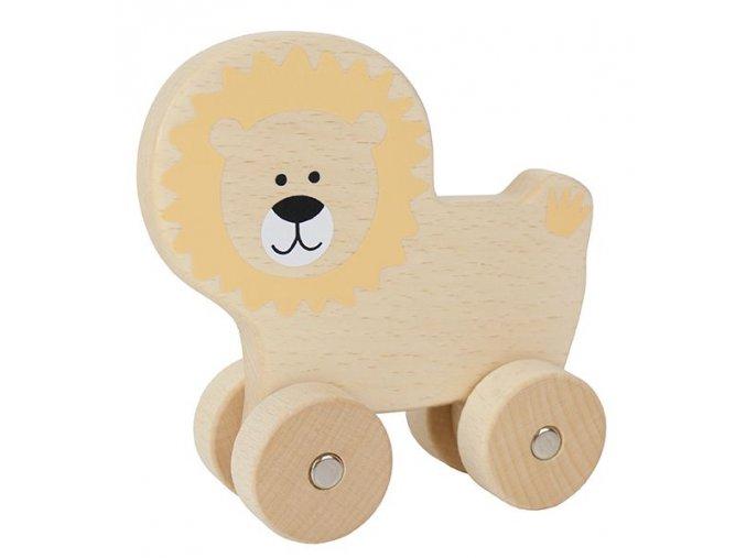 dřevěný lvíček