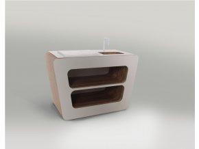 Designový nábytek pro panenky barbie kuchyňský ostrůvek