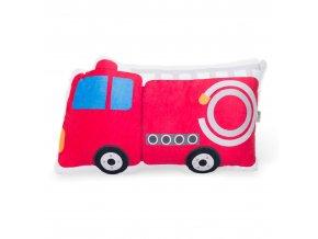 dětský tvarový polštářek hasiči