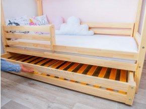 šuplík domečkové postele