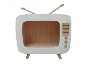 Polička retro televize