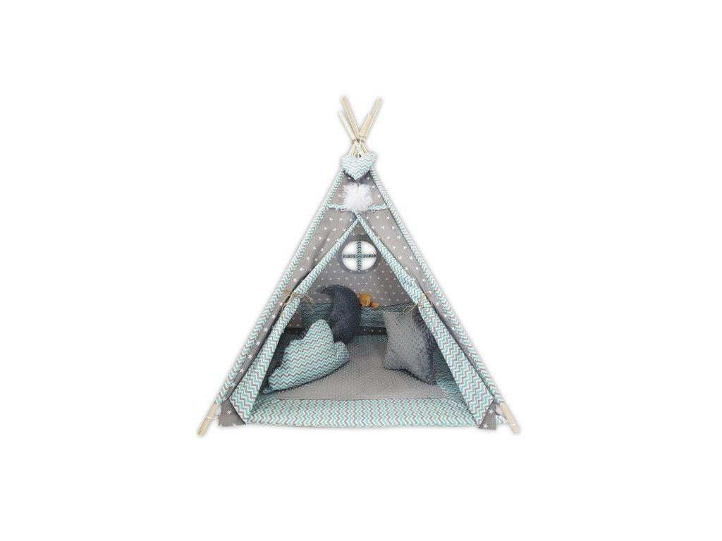 Csillagocska indián sátor