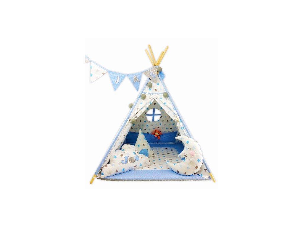 Holdacska indián sátor, párnácska névvel